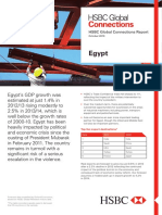 EGYPT — HSBC Global Connections (Oct 2013)