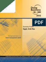 EGYPT Doing Business - World Bank 2012 (Doingbusiness.org)