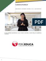 Transcripción Del Videptutorial de PerúEduca Blog