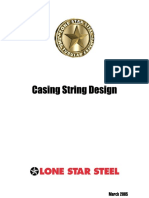 Lone Star Steel Casing Design