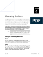 Ch.4 Cementing Additives
