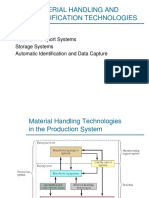 1 Material Handling and Identification Technologies