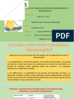 CONVENIO OIT 183 PROTECCIÓN DE LA MADRE TRABAJADORA UNA SUERTE DE LETRA MUERTA?
