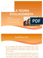 La Teoria Evolucionista