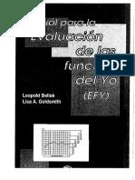 Manual para la Evaluacion de las Funciones del yo - Leopold bellak y Lisa Goldsmith.pdf