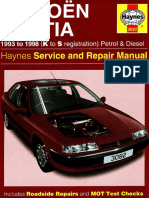 [CITROEN] Manual de Taller Citroen Xantia 1993-1998 Ingles