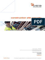 Construction Site Security a Guide