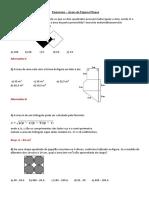 exercício matemática