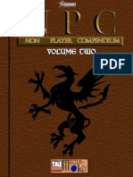 d20 Adamant Entertainment NPC (Non Player Compendium) Volume 2