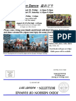 Jodo Mission Bulletin - August 2017