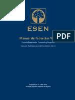 ESEN01 Manual de Proyectos Web Arroba de Oro - Vol 1