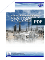 Manual de Manipulacion Del SF6 Usado