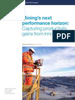 Minings Next Performance Horizon