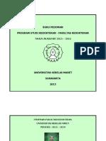 Pedoman Prodi Kedokteran 2015 2016