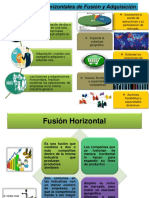 Estrategias Horizontales de Fusión y Adquisición
