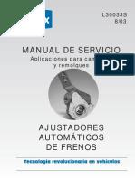 Manual de Servicio Ajustadores de Freno