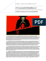 Final Paper - The Nature of a Successful Rebellion