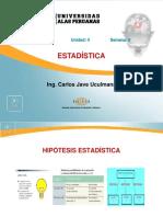 Psicología - Estadística - Semana 8
