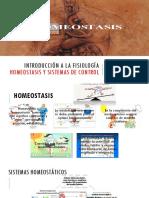 Homeóstasis y Sistemas de Control