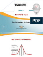 Psicología - Estadística - Semana 6