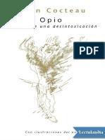 Jean Cocteau Opio