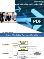 Service Productivity and Quality Control