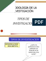2517 Tipos de Investigacion