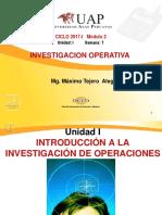 01 Introd a La Investigación de Operaciones 2017-1