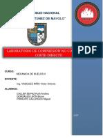 Compresion No Confinada y Corte Directo