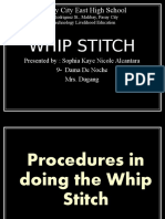 Whip,Running and Straight Stitches.pptx