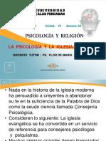 Ayuda 8a La Psicología y La Iglesia Evangélica