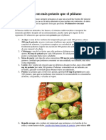 10 Alimentos Con Más Potasio Que El Plátano