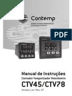 Manual de Instrucoes CTV45 CTV78