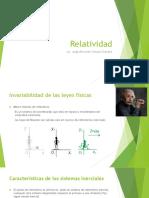 Relatividad - Fisica Moderna Unidad 01