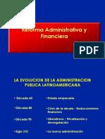 Makón, Marcos 2005-1997 Reforma Administrartiva y Financiera