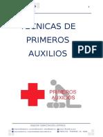 Manual Tecnicas de Primeros Auxilios Resumido