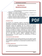 Practica Nº 6 Bioquimica - Proteinas Totales