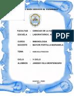 GRUPO SANGUINEO - INMUNOLOGIA