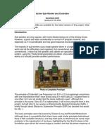 Circuito Audio amplificador Activo para SubWoofer