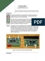 Circuito LED VUmeter facil