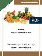 Modul Sayuran Dan Buah