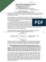 Question Paper SCM_Winter 2015-16 TEST II - Answer Key 2 Questions