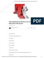Harvard Business Review Case Analysis_ Why Didn't We Know_ _ Mr. Isaac D
