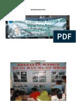 Banner Kegiatan Daan Sticker