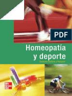 Homeopatía y Deporte - Delliere