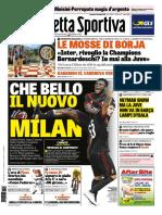 La Gazzetta Dello Sport Con Edizioni Locali 23 Luglio 2017