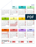 2017 Calendar for Saudi Holidays