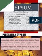 Gypsum New