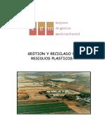 Manual de Informacion - Gestion de Residuos y Reciclaje Del Plastico