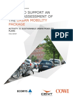 Urban Mobility Package Activity